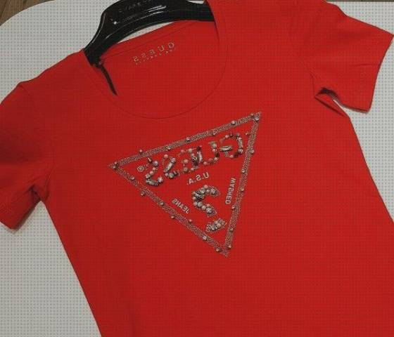 Mejores 4 Camisetas Guess Mujer