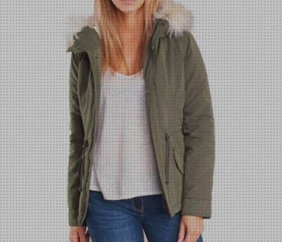 6 Mejores Parka Caquis Only Mujeres